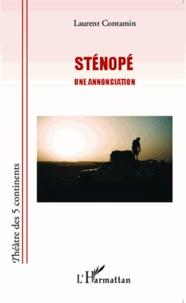 Laurent Contamin - Sténopé - Une annonciation.