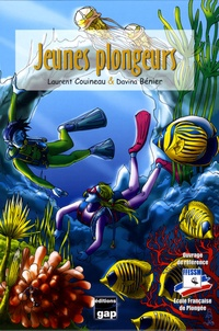 Laurent Couineau et Davina Bénier - Jeunes plongeurs.