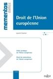 Laurent Coutron - Droit de l'Union européenne.