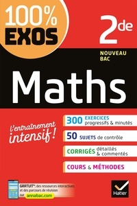 Google eBooks téléchargement gratuit pour kindle Maths 2de  - Exercices résolus - Seconde
