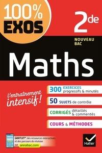 Amazon télécharger des livres Maths 2de  - Exercices résolus - Seconde par Laurent Darré 9782401057029