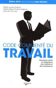 Code commenté du travail - Laurent Dubois | Showmesound.org
