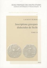 Deedr.fr Inscriptions grecques dialectales de Sicile - Tome 2 Image