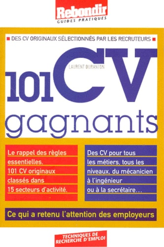 Laurent Duranton - 101 CV gagnants.