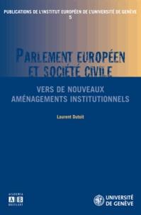Alixetmika.fr Parlement européen et société civile - Vers de nouveaux aménagements institutionnels Image