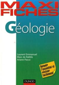 Laurent Emmanuel et Ariane Pasco - Géologie.