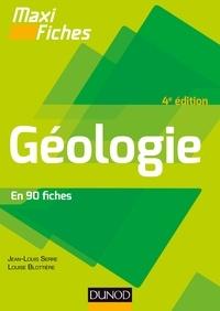 Laurent Emmanuel et Marc de Rafélis Saint Sauveur - Maxi fiches - Géologie - 4e éd..