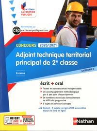 Télécharger un ebook pdf en ligne Concours adjoint technique territorial principal de 2e classe externe  - Catégorie C. Ecrit + oral
