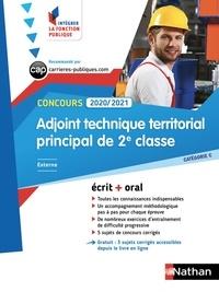 Laurent Fischer et Elisabeth Simonin - Concours adjoint technique territorial principal de 2e classe externe - Catégorie C. Ecrit + oral.