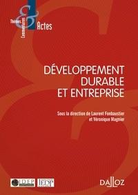 Laurent Fonbaustier et Véronique Magnier - Développement durable et entreprise.
