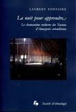 Laurent Fontaine - La nuit pour apprendre - Le chamanisme nocturne des Yucuna d'Amazonie colombienne.