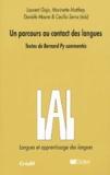 Laurent Gajo et Bernard Py - Un parcours au contact des langues.