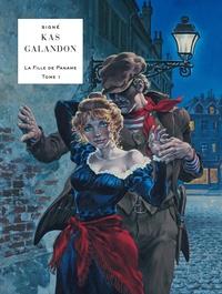 Laurent Galandon et  Kas - La fille de Paname Tome 1 : L'homme aux couteaux.