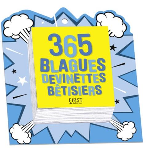 Laurent Gaulet - 365 blagues, devinettes et bêtisiers.