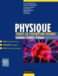Laurent Gautron - Physique - Licence, CAPES, Prépas.