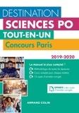 Laurent Gayard et Sophie Gallix - Destination Sciences Po - Tout-en-un - Concours Paris 2019-2020.