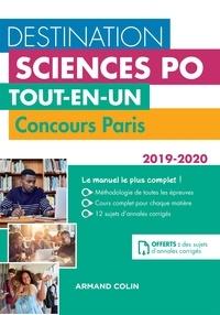 Téléchargez des livres complets gratuitement en ligne Destination Sciences Po - Tout-en-un - Concours Paris 2019-2020