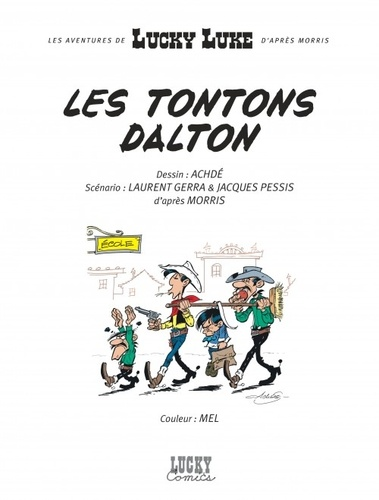 Les Aventures de Lucky Luke d'après Morris Tome 6 Les tontons Dalton
