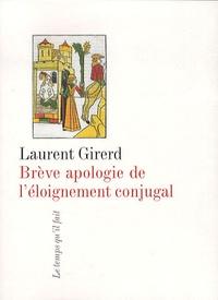 Deedr.fr Brève apologie de l'éloignement conjugal Image