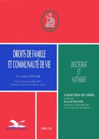 Rhonealpesinfo.fr Droits de famille et communauté de vie Image