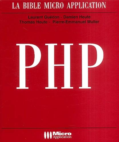 Laurent Guédon et Damien Heute - PHP. 1 Cédérom
