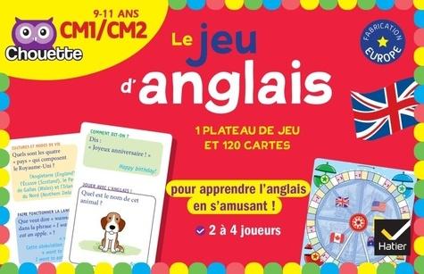Laurent Héron et Adrien Siroy - Le jeu d'anglais CM1-CM2 - Avec 1 plateau de jeu, 120 cartes, 4 pions et 1 dé.
