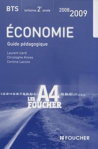 Economie BTS tertiaires 2e année- Guide pédagogique - Laurent Izard |