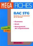 Laurent Izard et Dominique Lemoine - Economie-Droit-Management des organisations Bac STG.