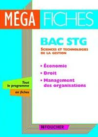 Laurent Izard et Dominique Lemoine - Economie, Droit, Management des organisations - Bac STG.