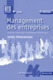 Laurent Izard et Christophe Kreiss - Management des entreprises BTS tertiaires 1re année - Guide pédagogique.