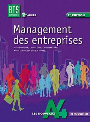 Management des entreprises BTS Tertiaires 2e année 2e édition