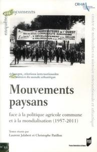 Deedr.fr Mouvements paysans - Face à la politique agricole commune et à la mondialisation (1957-2011) Image