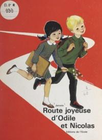 Laurent Jenvrin et Colette Lazennec - Route joyeuse d'Odile et Nicolas.