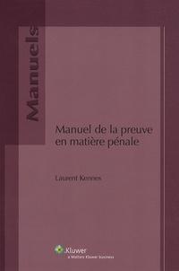 Manuel de la preuve en matière pénale.pdf