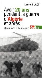 Histoiresdenlire.be Avoir 20 ans en Algérie, et après... - Questions d'humanité Image