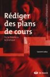Laurent Leduc - Rédiger des plans de cours - De la théorie à la pratique.