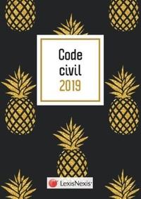 Laurent Leveneur - Code civil - Jaquette ananas - Avec le livret comparatif de la réforme du droit des contrats offert.