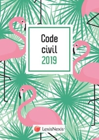 Laurent Leveneur - Code civil - Jaquette flamands rose.