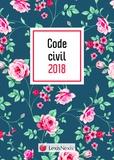 Laurent Leveneur - Code civil Motif fleuri - Avec le livret comparatif de la réforme du droit des contrats offert.
