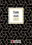 Laurent Leveneur - Code civil - Jaquette geometric.