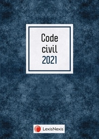 Laurent Leveneur - Code civil - Jaquette Blue.