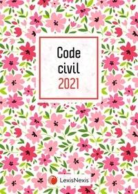 Laurent Leveneur - Code civil - Jaquette Petites Fleurs.