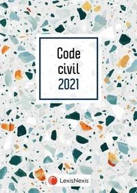 Laurent Leveneur - Code civil - Jaquette Terrazzo.