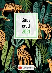 Laurent Leveneur - Code civil - Jaquette Jungle.