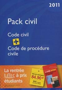 Laurent Leveneur et Loïc Cadiet - Pack Civil - Code civil 2011, Code de procédure civile 2011.