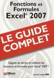 Laurent Longre - Excel 2007 - Fonctions et Formules.