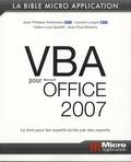 Laurent Longre et Jean-Philippe Ambrosino - VBA pour Office 2007.