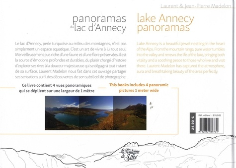Panoramas du lac d'Annecy
