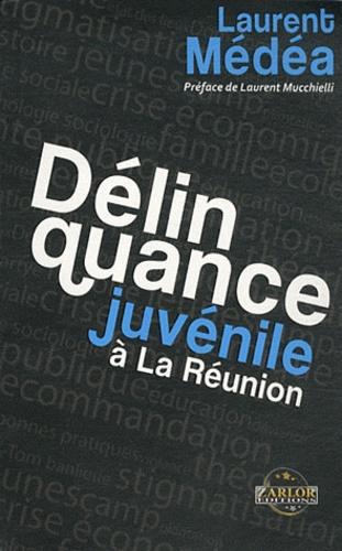 Laurent Médéa - La délinquance juvénile à La Réunion.