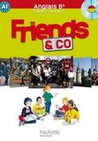 Laurent Perrot - Friends and co - anglais 6e - palier 1 année 1. 1 CD audio